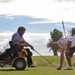 Golfen voor rolstoelers