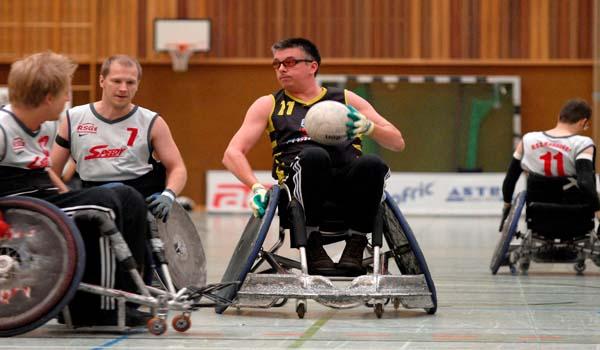 Rugby rolstoel wedstrijden op Tenerife
