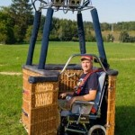 Luchtballon tocht met een rolstoel !