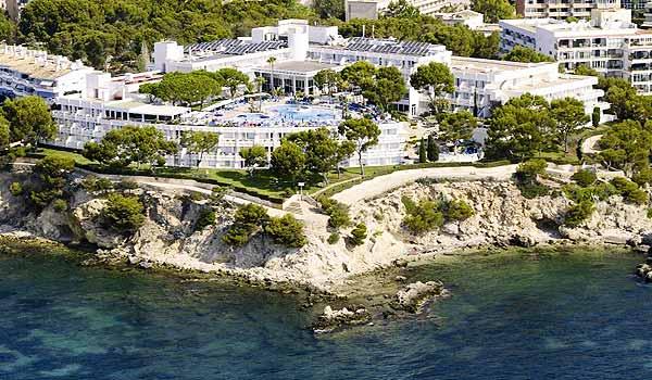 Mallorca aangepast rolstoel kamer in Hotel Ponent-de-Mar-Palma-Nova